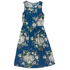 Hampstead Rose Dress with Dart Front Detail | Dresses | CathKidston