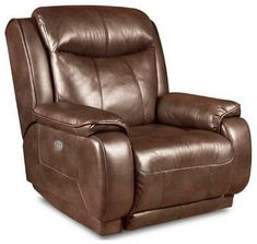 Southern Motion - Velocity Wall Hugger Recliner W/ Power Headrest - Brown Leather Recliner, Leather Recliner Chair, Leather Sofa, Recliner With Ottoman, Modern Recliner, Wall Hugger Recliners, Transitional Home Decor, Daybed With Trundle, Power Recliners