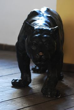objects 05 - panther statue by oro-elui-stock on DeviantArt