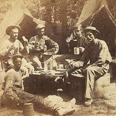 """Hardtack could be eaten plain though most men preferred to toast them over a fire, crumble them into soups, or fry them with their pork and bacon fat in a dish called """"skillygalee."""" Coffee was a most also an important staple and some soldiers considered it (and sugar) more important than anything else."""