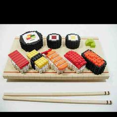 Lego sushi!!! Via the poke