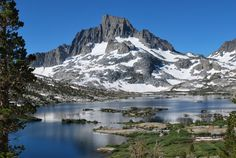 Backpacking on the John Muir Trail from the REI 1440 Project.