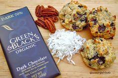 Gourmet Girl Cooks: Chocolate Chip Coconut Pecan Cookies