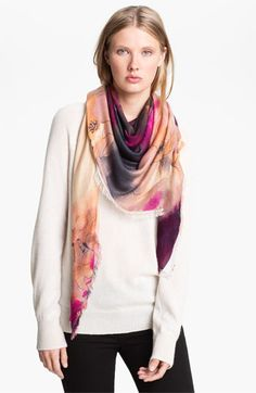 Hinge® 'Fade Away' Scarf available at #Nordstrom