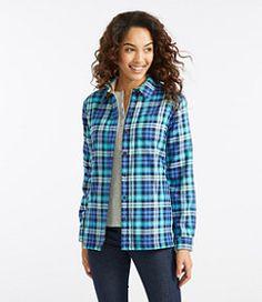 #LLBean: Fleece-Lined Flannel Shirt