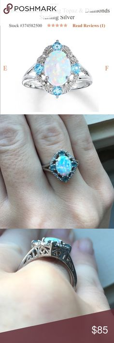 Opal ring from kays Opal ring from Kay's jeweler Kay Jewelers Jewelry Rings