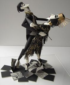 #Decoração  110 Incredibly Creative Examples of 3D Paper Art by 15 Various Contemporary Artists
