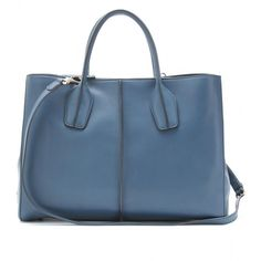 Tod's D Styling Medium Shopper Tote ($1,622) ❤ liked on Polyvore