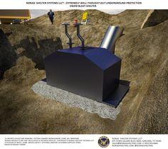 S16x10 Bomb Shelter Exterior 1
