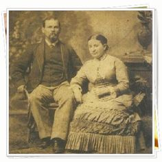 """Clay and Mary Faulkner were the first people who """"belonged"""" to Falcon Rest -- its original owners who built it in 1896.  Tour their dream home -- Victorian Mansion where history is fun.  #falconrest #historic house museum #victorian mansion"""