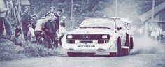 Lakes Rally 1985 – Audi S1