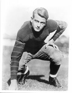 John Wayne, 1926, while he was a student at the University of Southern California, Los Angeles