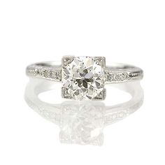 Antique Engagement Rings | Leigh Jay Nacht, New York
