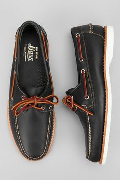 Mark McNairy For Bass - Hingham Boat Shoe. Definitely love when men wear these!