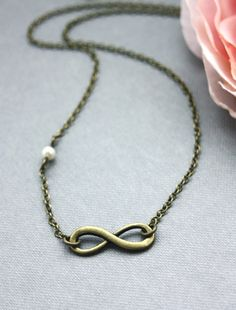 Infinity Necklace. GirlFriends. For Wife, For Sis. Mother and Daughter. Engagement. Valentine.Eternity Necklace. Christmas Gifts.