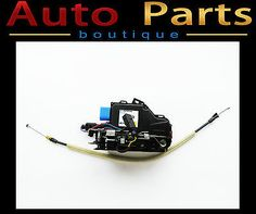 Bentley Continental GTC 2011-2012 Door Lock With Keyless Entry LHD 3D1837015AK