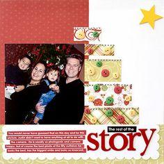 Pieced Tree Christmas Page