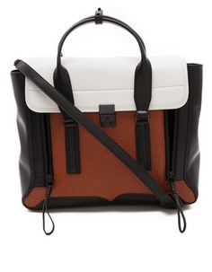 The Daily Find: 3.1 Phillip Lim Pashli Colorblock Satchel