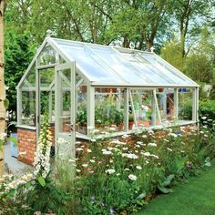 Hartley Botanic's new Opus 8 greenhouse (from £5,700)