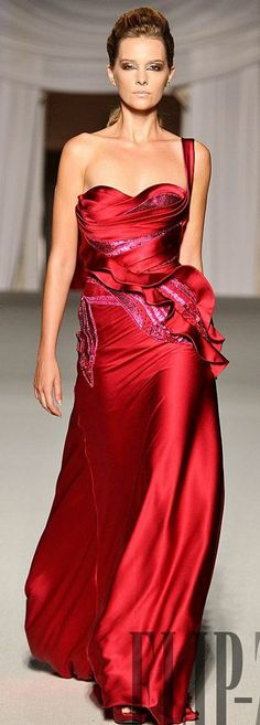 # GOWN IN RED