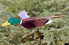 "DUCK Wind Mobile. The wind makes it ""fly""...."