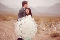 A Romantic Engagement Shoot in the Desert with Bubbles, i stumbled upon this..and loved it!