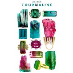 Let's Talk Tourmaline ❤ liked on Polyvore