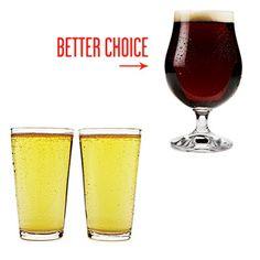 Em vez de ultraleve, beber cerveja de artesanato local.