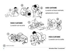 "WAKI GATAME Luxación con la axila UDE GATAME Luxación al brazo estirado, aplastando el codo Kansetsu Waza ""Luxaciones"" 2 1... Tony Jaa, Steven Seagal, Chuck Norris, Dojo, Jiu Jitsu, Karate, Mma, Krav Maga, Taekwondo"