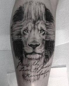 Resultado de imagem para tattoo leao e cordeiro