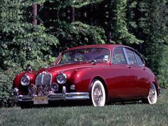 1959 Jaguar Mark II. The car that started my appreciation of classic cars when I saw one at a stoplight in London.
