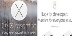 "Apple launches a new Operating System ""OS X Yosemite"" for their Mac computers , also ""IOS 8"" for their mobile phones."