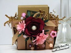 Stampin' Up! Berry Basket Bigz L Die, Spiral Flower Originals Die & Fringe Scissors.   lanaellis.stampinup.net