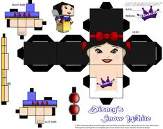 Disney's Princess Snow White Part 1 cubeecraft by SKGaleana.deviantart.com on @DeviantArt