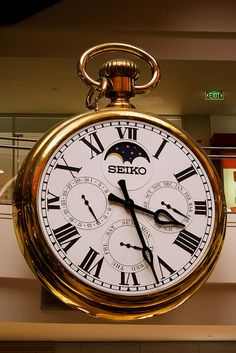 Melbourne Central Marionette Fob Watch by Rexness, via Flickr