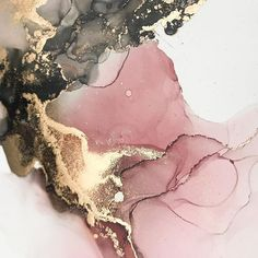 Pink/red, gold and grey abstract painting. A original alcohol ink painting on yupo paper. Marble Wallpaper Phone, Rose Gold Wallpaper, Iphone Wallpaper Vsco, Iphone Background Wallpaper, Glitter Wallpaper, Best Iphone Wallpapers, Pretty Wallpapers, Aesthetic Iphone Wallpaper, Aesthetic Wallpapers