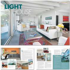 LAYOUT DESIGN, OREGON HOME MAGAZINE, DEC/JAN 2012 (Jon Taylor Carter,