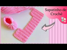Crochet Boots, Crochet Baby Booties, Free Crochet, Knit Crochet, Stitch Patterns, Crochet Patterns, Knitted Slippers, Crochet Basics, Baby Sewing