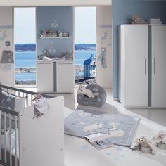 Chambre à coucher bébé | Chambre bébé garçon NOUKIE'S theme Arthur et Merlin+ meubles ...