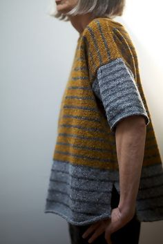 Free Pattern - Stripey–Tweedy by Leslie Weber https://espacetricot.wordpress.com/2012/10/05/free-pattern-friday-18/
