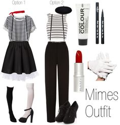 """Mimes Outfit"" by grungeclothes ❤ liked on Polyvore"