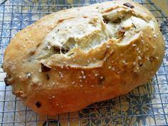 Roasted Potato and Onion French Bread - great bread to serve with soup or stew