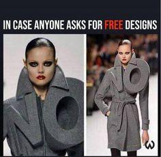 No more free designs. :/