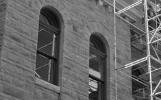 Old Historic City Hall Canadian Nature, Calgary, Black And White, Landscape, City, Silver, Image, Blanco Y Negro, Landscape Paintings