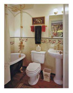 a beautifully done bathroom