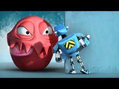 Супер робот _ SuperBot   короткометражный анимационный мультфильм