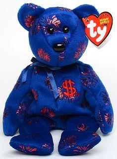 Beanie Babies Value, Rare Beanie Babies, Original Beanie Babies, Beanie Baby Bears, Ty Beanie Boos, Ty Stuffed Animals, Plush Animals, Ty Bears, Ty Plush
