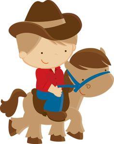 Menino no cavalo