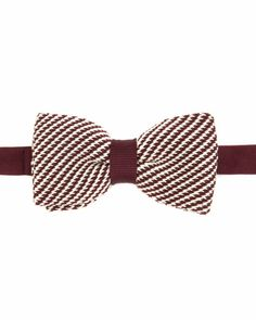 Knitted bowtie - Red | Ties & Bow Ties | Ted Baker