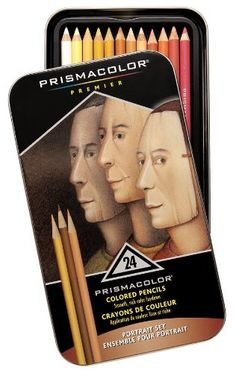 Amazon.com: Sanford Prism color Premier Portrait Colored Pencil Set, Assorted Colors: Arts, Crafts & Sewing
